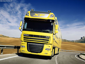 Daf fx yellow