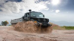 Mercedes Zetros бортовой