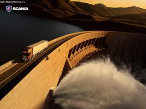 Scania bg staudamm