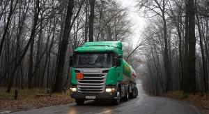 Scania G410 в лесу