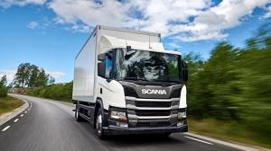 Scania P280 в движении