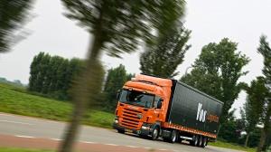Scania R420 в движении