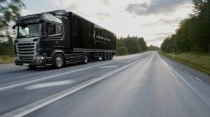 Scania R450 в движении