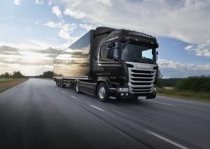 Scania R520 в движении