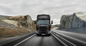 Scania R520 вид спереди