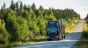 Scania R730 лесовоз