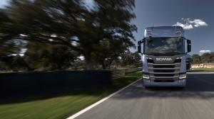 Scania R 500 в движении
